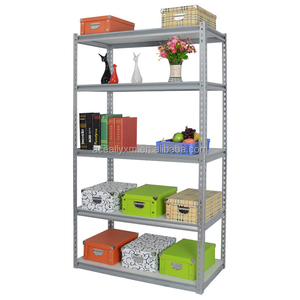 light duty garage rack boltless rivet wooden cube shelving for industry