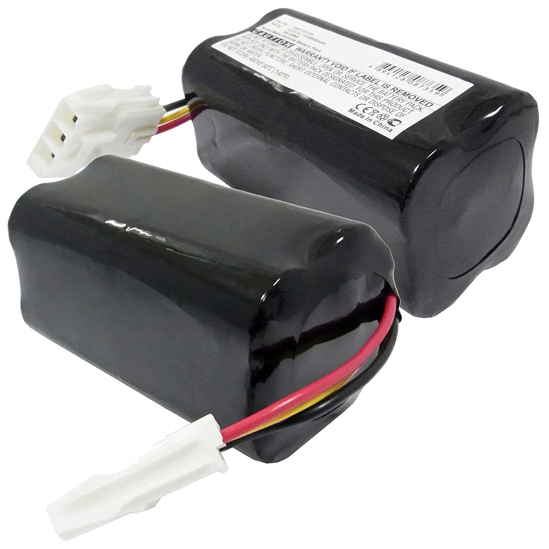 2x Exell EBVB-270 NiMH 9.6V 3000mAh Vacuum Battery Fits Panasonic MC-B10P, MC B 20 J, MC-B20JP Vacuums. Replaces Panasonic AMV10V-8K Batteries