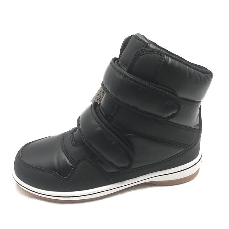 新しいデザイン黒防水snowboots用女性