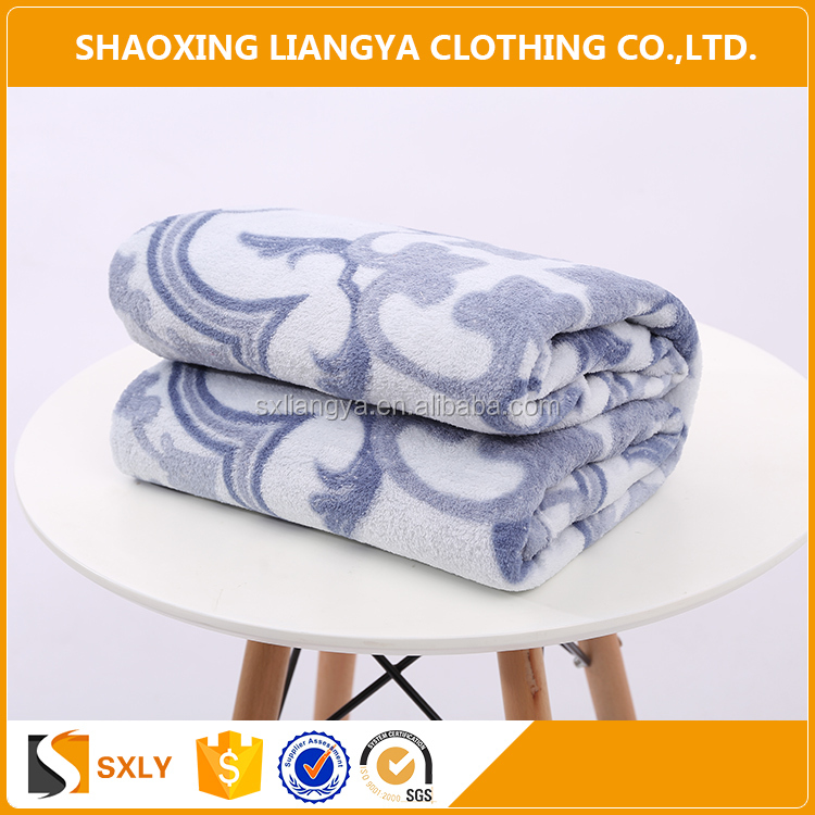 shaoxing keqiao hot sale blanket coral fleece,offset printing blanket