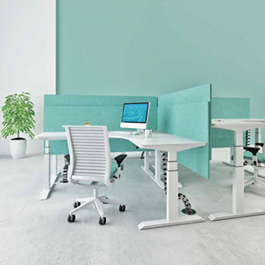 Your lover Beautiful Electric Height Adjustable Desk for One Person