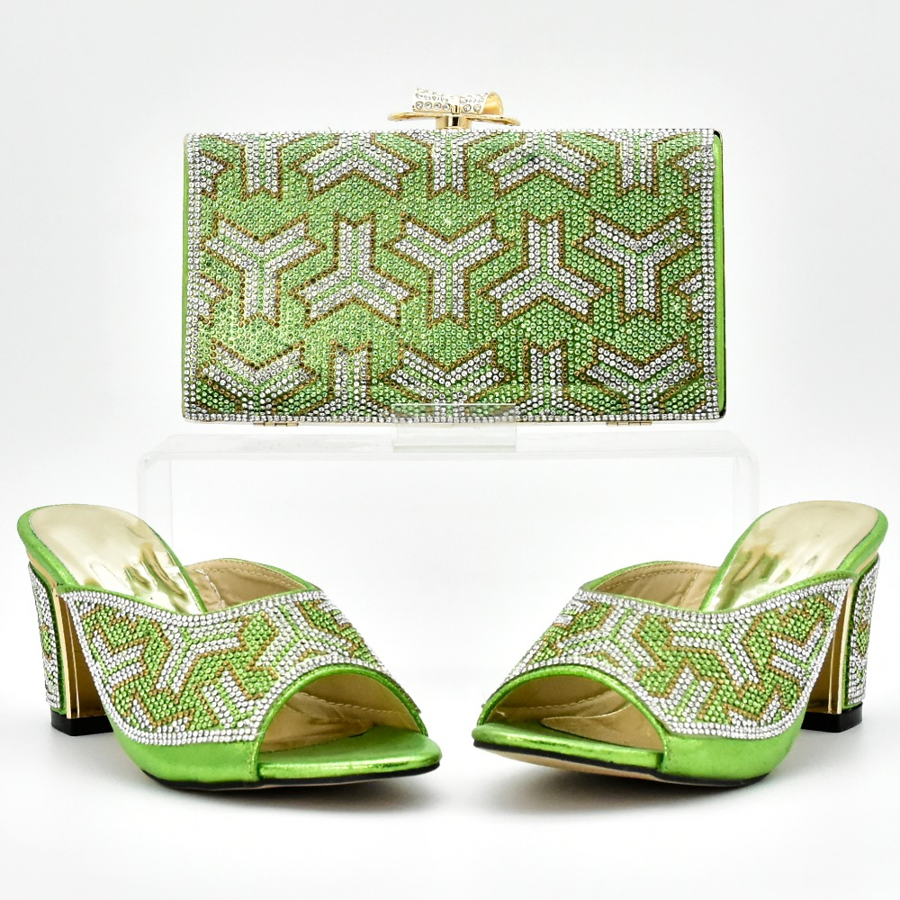 Nigeria high party Fashion set and matching shoes shoes bag quality bag and African italian HxxfCd