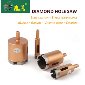 6-100mm Sintered Gear Diamond Core Drill Bit for Granite Masonry Granite tile