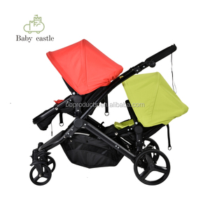 Twin baby stroller with En1888 Approved