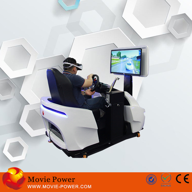 New machine for small business realistic driving sims for you 3d sonic car racing game machine control by pc tablet
