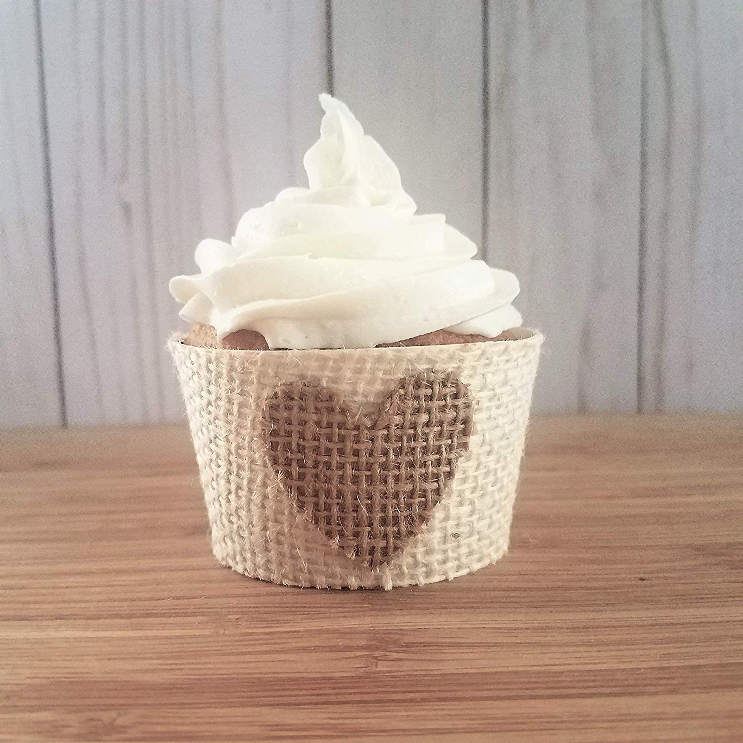 get quotations burlap rustic cupcake wrappers barn wedding decor baby or bridal shower cup cake decorations