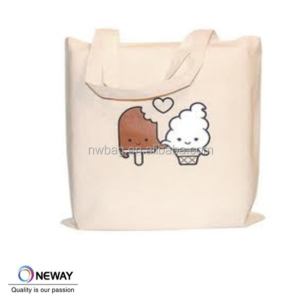 Recycled Organic Cotton Market Tote Bag