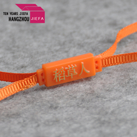 Custom printed high quality string seal clothing plastic hang tags for garment