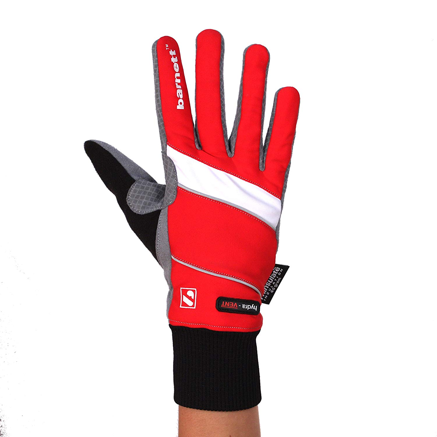 Barnett NBG-08 Cross Country Gloves- for Outside temperatures -5/-15°C-ski Alpine-ski- red