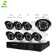 Factory wholesame 8ch 1200TVL 720P IP Cameras CCTV System Home Security Wireless camera intelligent household 1080 p high