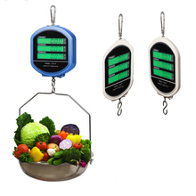 recharging dual side digital display hanging price computing scale for vegetable fruit meat with tray and remote controller