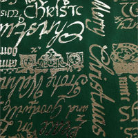 100% cotton printed wholesale christmas fabric