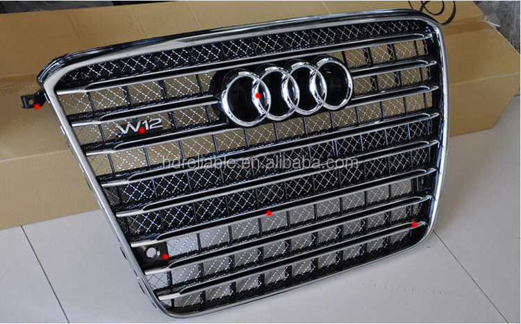 wholesale front grille for audi a8 a8 chrome front grill. Black Bedroom Furniture Sets. Home Design Ideas