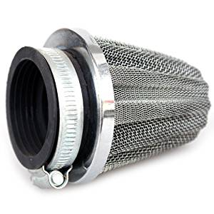 39mm Air Filter for 125cc 150 cc 200CC ATVs Dirt Bikes Quad 4 Wheeler Pit Bike 125 cc Go Karts Dune Buggy Sandrail Taotao SunL Coolster Kandi Tank SSR Roketa Baja