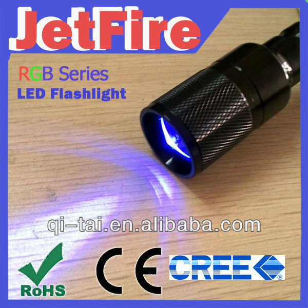 Water Proof LED Flashlight ,cree led torch,18650 battery