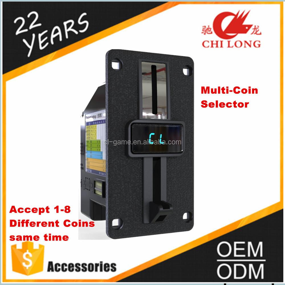 Cl-168 Multi Electronic Coin Selector For Massage Chair Vending ...