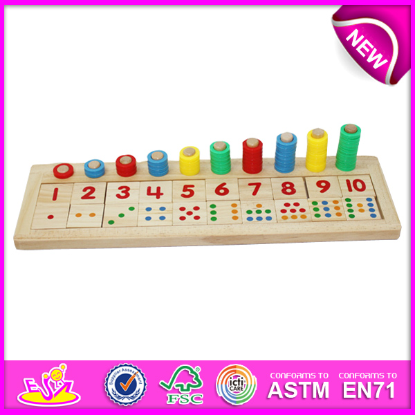 2015 Wooden Counting Toys for kids,wooden toy counting toy for children,Preschool Wooden counting toy for baby W12E002