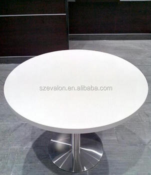 Prime Granite Top White Round 10 Seater Dining Table Solid Surface Restaurant Table With Chairs Coffe Table Buy Round Dining Table With Leather Uwap Interior Chair Design Uwaporg