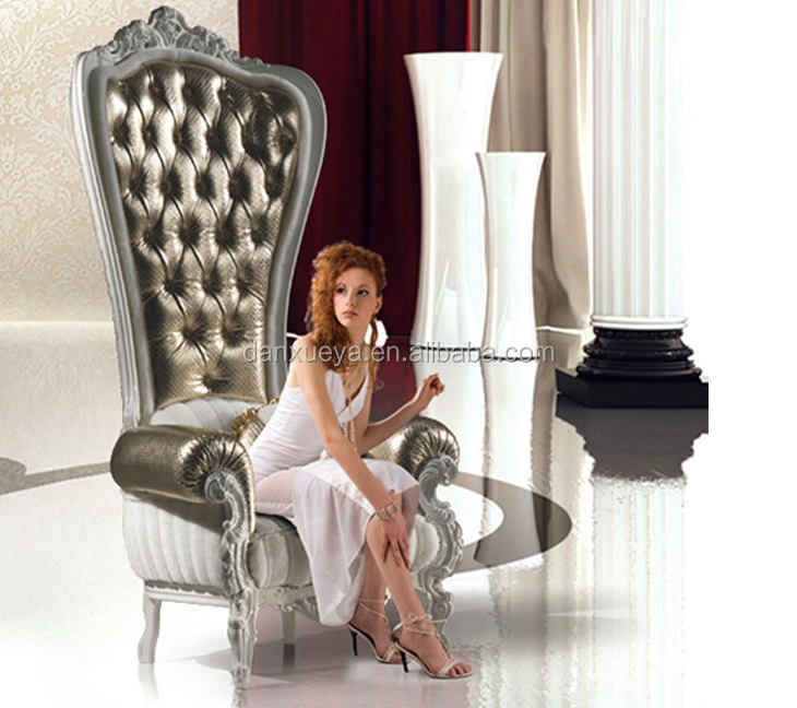 Danxueya- luxury royal sofa chair wedding chairs for bride and groom