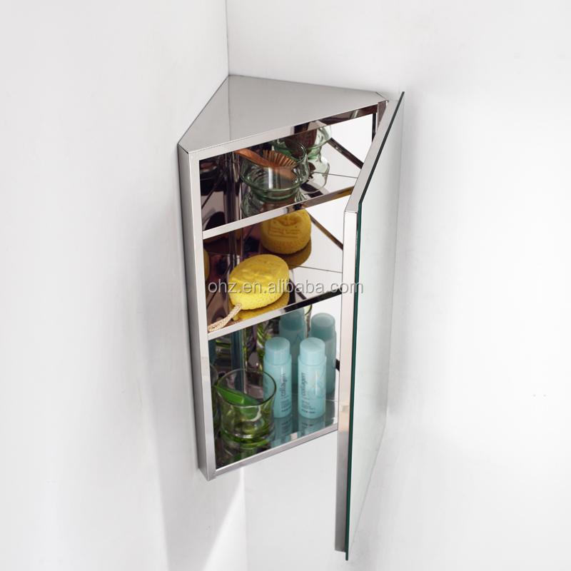 spiegel hoekkast badkamer. Black Bedroom Furniture Sets. Home Design Ideas