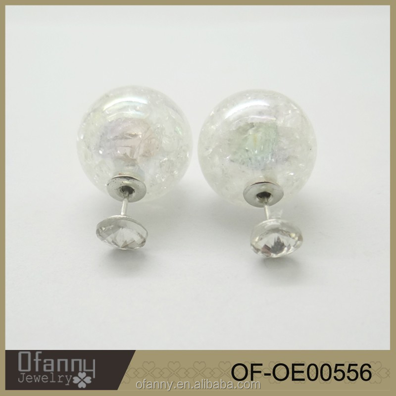 China Manufacturer Fashion Jewelry Wholesale Crystal Beads Earrings
