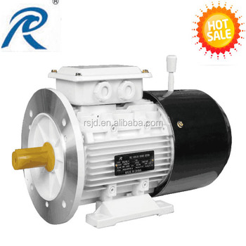 YEJ-100L-6 2hp three phase asynchronous brake motor