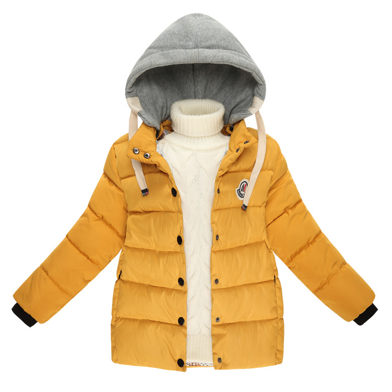 d2ef0c9a2 Buy Kids Winter Long Down Coats Cotton Outerwear for Girls Girls  39 ...