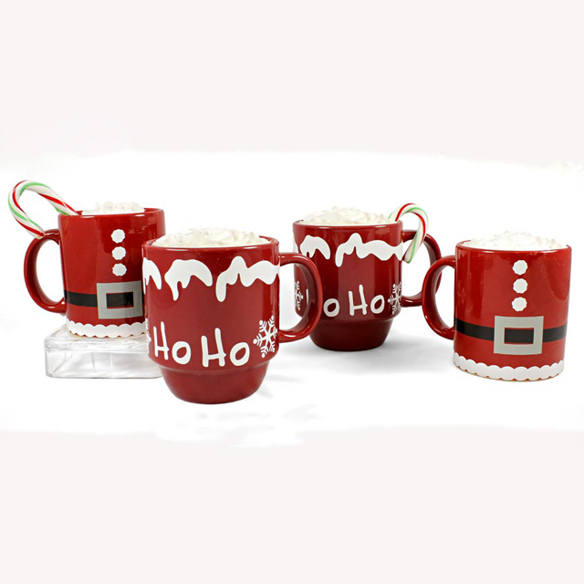 China bulk wholesale cheap personalized holiday decorative christmas mug