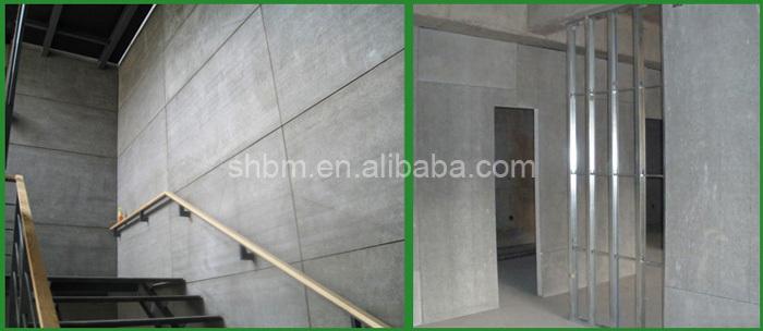Elegant 6mm 8mm 10mm Fireproof Fibre Cement Ceiling Board/ Exterior Facade Cladding  Fiber Cement Board