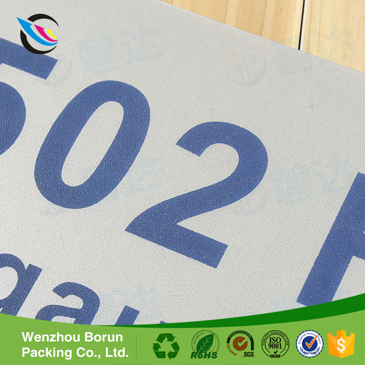Factory price waterproof adhesive stickers name labels width custom <strong>logo</strong>