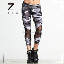 High Quality Women Dry Fit Sublimation Printed Gym Leggings High Waist Yoga Pants For Women