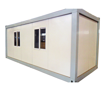 Steel modular flat pack insulated house shipping container dormitory