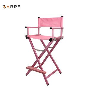 Ordinaire China Factory Price Aluminum Pink Makeup Chair Portable Folding Director  Chair