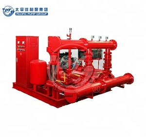 Diesel engine drive fire pump set