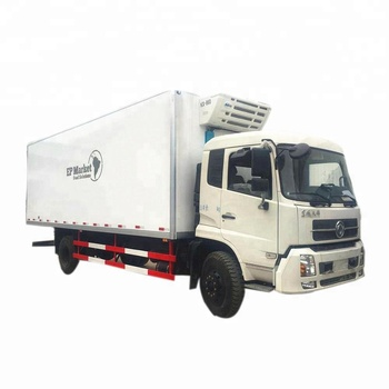 export Dongfeng 16T Thermo King refrigerator van truck for meat and fish