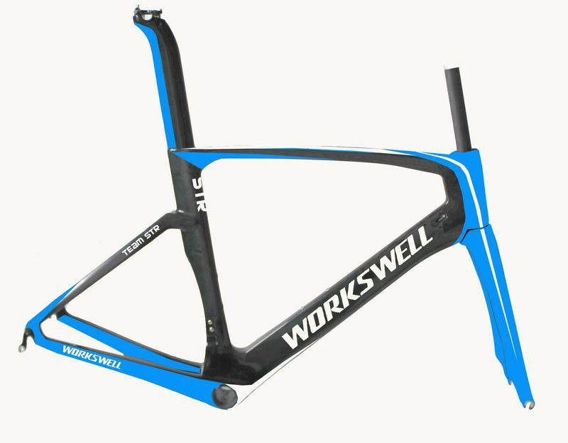 2 years warranty CEN Test 700c size bicycle frame excellent carbon bicycle frame china
