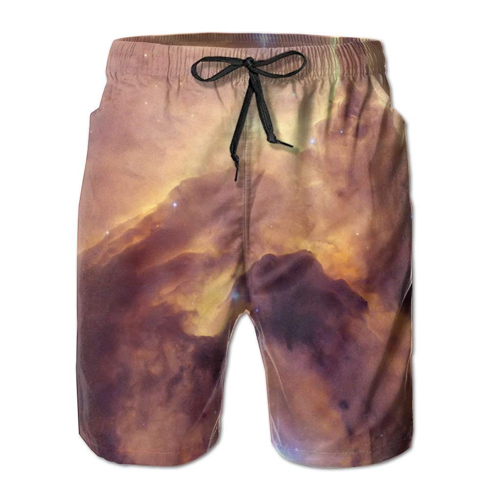 08fad52196 Get Quotations · Man Quick Dry Swim Trunks The Yellow Sky Swim Surf Trunks  With Pockets