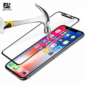 IDEALISTS!! Tempered glass screen protector Full Glue for Iphone for Samsung for Huawei for Xiaomi for All Mobile Phone