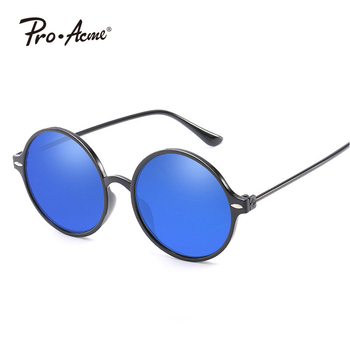 New Fashion Round Classic Unsix Rivet Wholesale Glasses UV400 Protect Sunglasses PA915