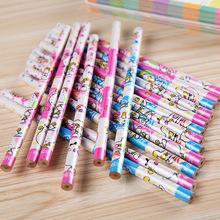 2015 kawaii Cute cartoon pattern 2H pencil for kid material escolar, caneta child student pens school supplies kalem hot selling