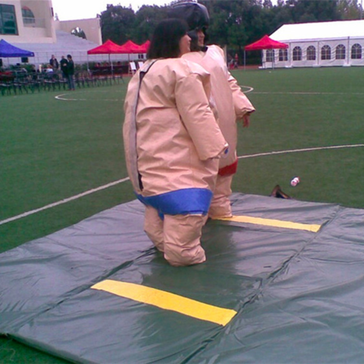 High quality cheap price funny fighting inflatable sumo suit for sale