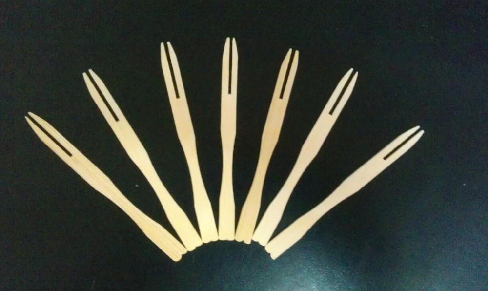 disposable bamboo fork