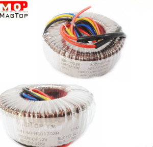 cheap natural cooling toroidal core transformer 300VA manufacturer in Asia