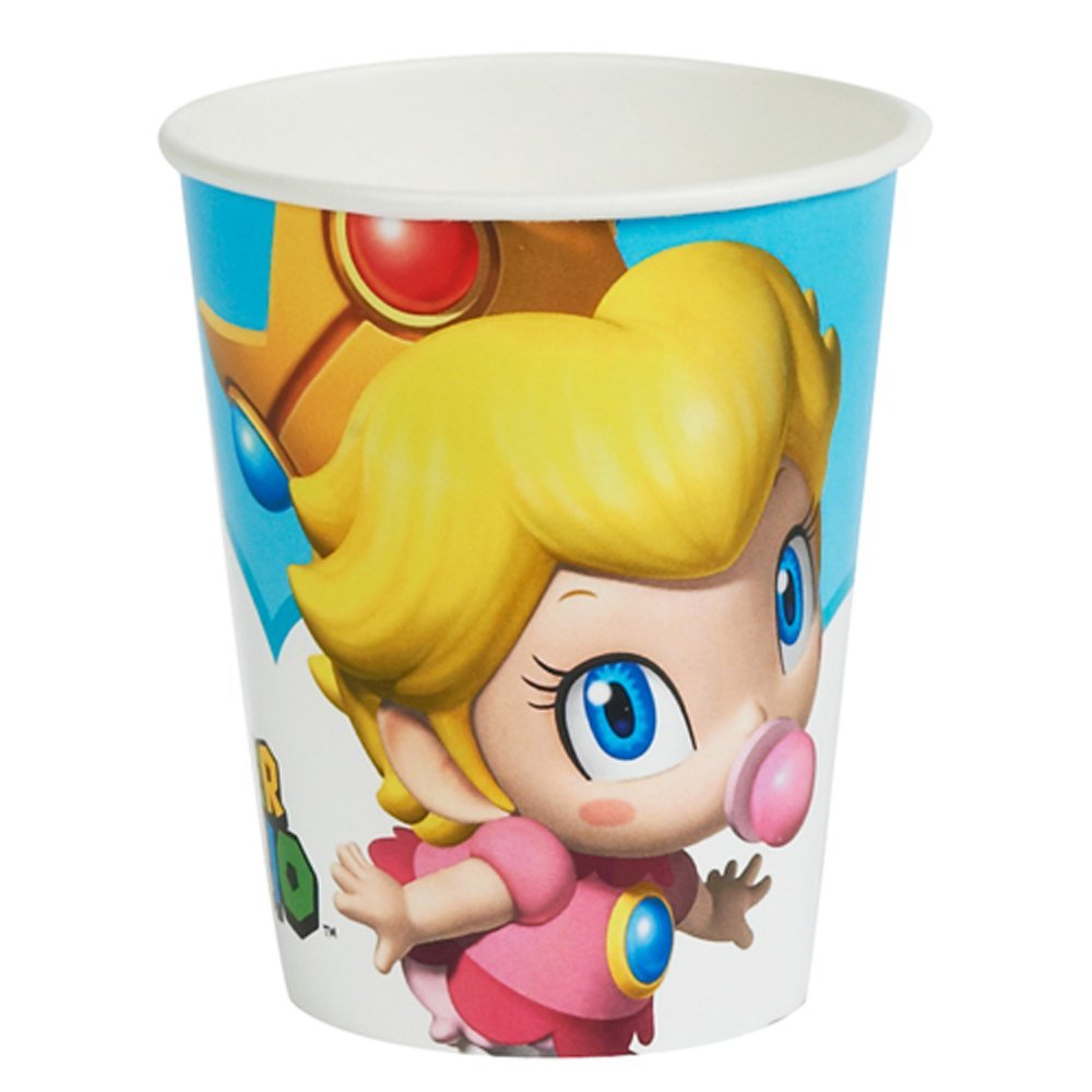 Super Mario Brothers 'Babies' 9oz Paper Cups (8ct)