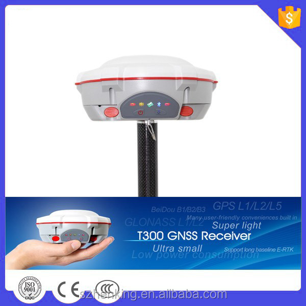 high performance 256 channels comnav T300 GPS rtk surveying instruments