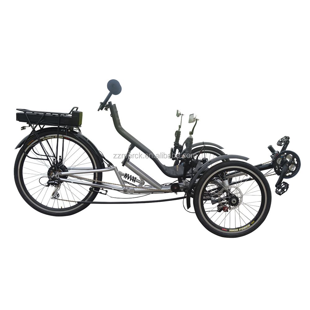 High Power Three Wheeled Pedelce Electric Recumbent <strong>Bicycle</strong> for sale