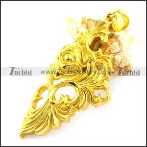 cheap price high quality wholesale gold wing stainless steel gold pendant angel