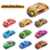Plastic Mini Cartoon Car Pull Back Car Model Children's City Car Toys Cartoon aircraft