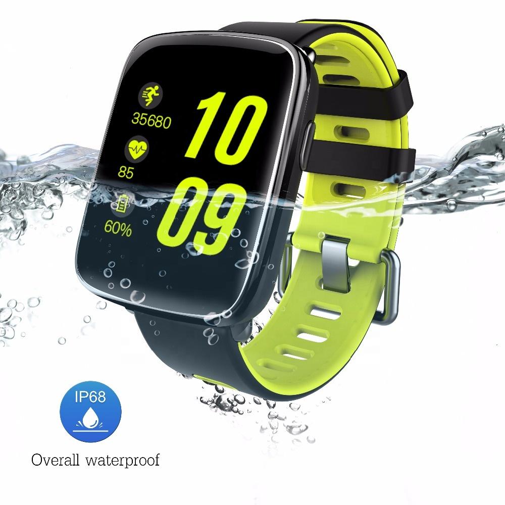 Luxury Men GV68 Sports Smart Watch with Heart Rate Blood Pressure 1.54 inch Anti-lost IP68 Smart Watch