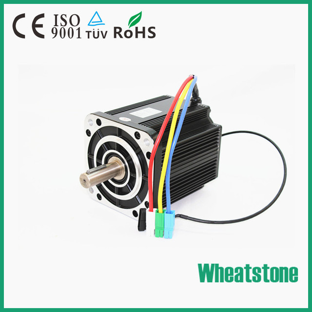 High Torque 96V 7500W 2000RPM brushless dc motor With High effiency